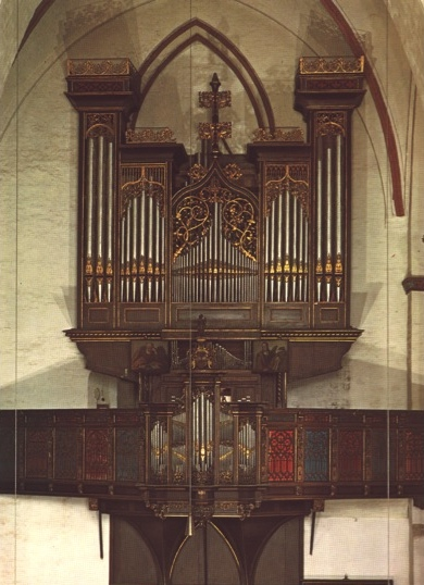 The 17th Stellwagen organ in Lubeck, Germany
